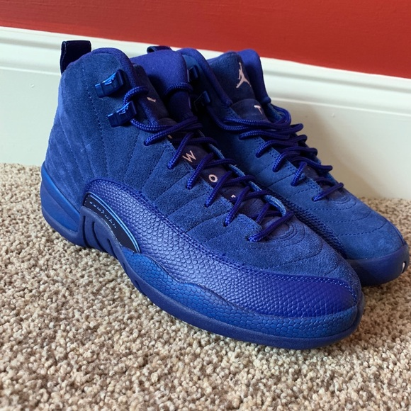 "reputable site 78403 3b5b4 New! Air Jordan 12 retro ""Blue Suede"""